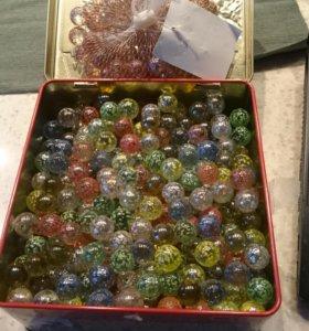 Декоративные стеклянные шарики