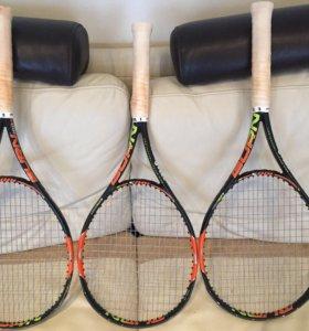 3x Теннисных ракетки Wilson Burn 100S