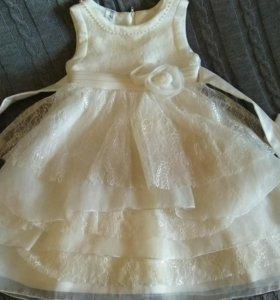 Платье новогоднее 98см