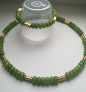 Колье браслет из натуральных камней украшение