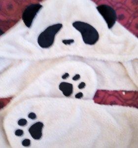 Шапка-панда