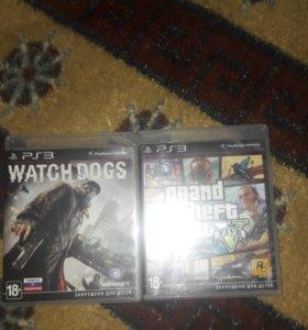 GTA5, WATCH DOGS