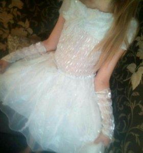 Нарядное платье для девочки 5-9лет