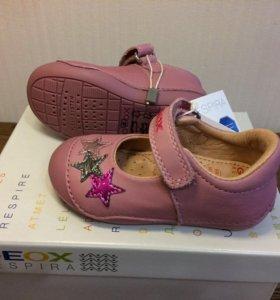 Новые туфли Geox 21 размер