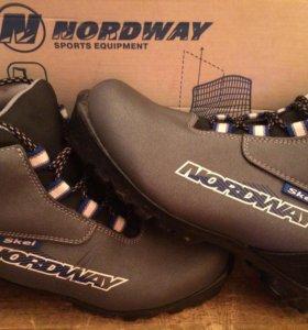 Лыжи с ботинками37 беговые