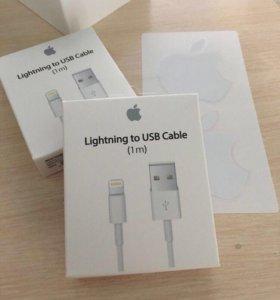 Оригинал зарядный кабель lightning для iphone