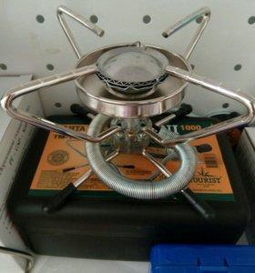 Портативная газовая плитка мини