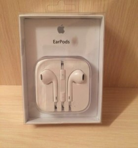 Новые Apple EarPods