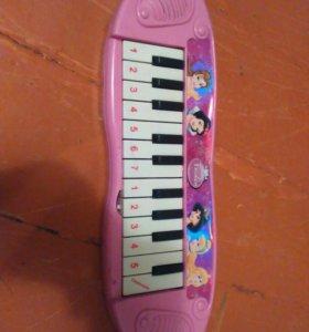 Детское игрушечное пианино для девочки