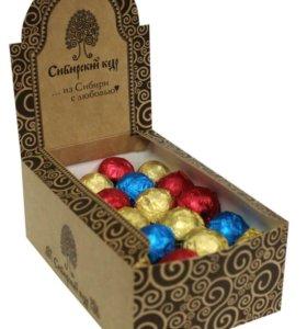 Подарочный набор конфет -кедровый грильяж!