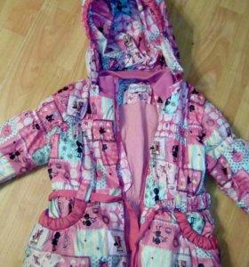 Три куртки на девочку весна/осень