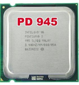Intel Pentium PD945 3,4 GHz/4mb/800/LGA 775