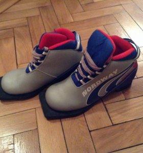 Лыжные детские ботинки р.34