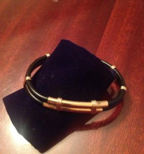 Комбинированный мужской браслет.