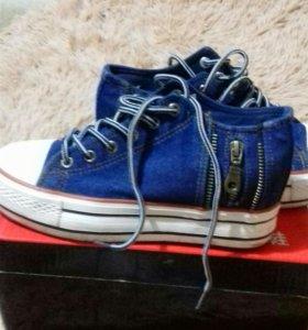 Ботиночки джинсовые