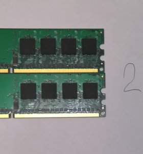 DDR2-800 512MB и DDR2 256MB 1Rx16 PC2-5300S