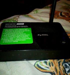 Wi-Fi ZyXEL Keenetic Start (вайфай роутер)