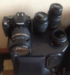 Фотоаппарат с объективами