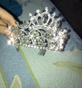корона бижутерия