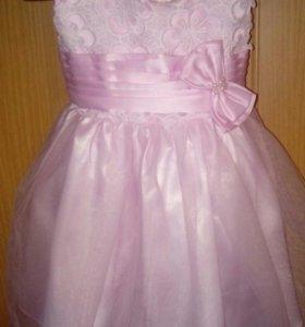 Платье детское нарядное.
