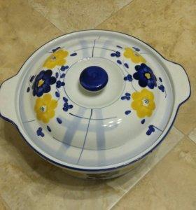 Кастрюля из жаропрочной керамики