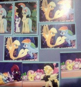 Наклейки My little pony:The MOVE