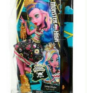 Продам куклу Monster High Gooliope Jellingto