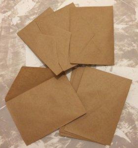 Крафт-конверты С6
