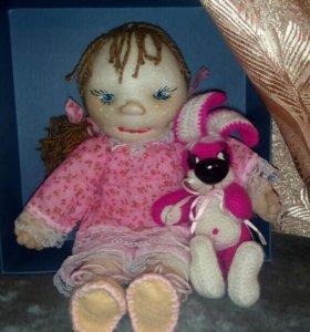 Кукла в пижамке.Эксклюзивная.
