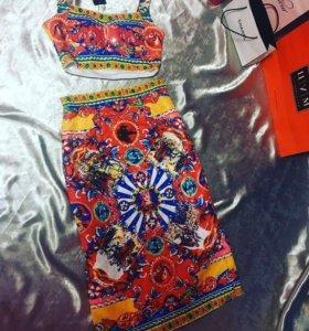 Новый костюм Dolce Gabbana
