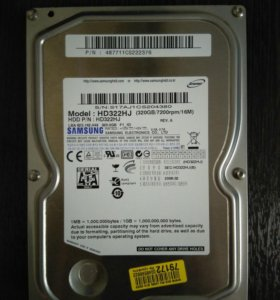 Жесткий диск Samsung 320GB