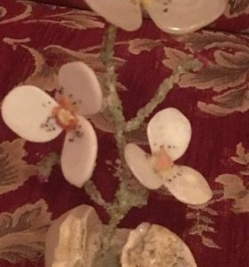 Сувенир. Каменный цветок. Новый.