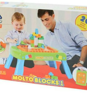 Конструктор molto blocks столик