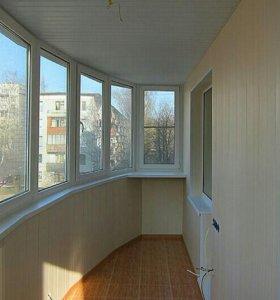 Пластиковые окна и балконы