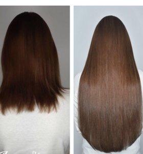 Наращивание волос,коррекция,перекапсуляция