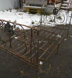кровать старинная 19 век