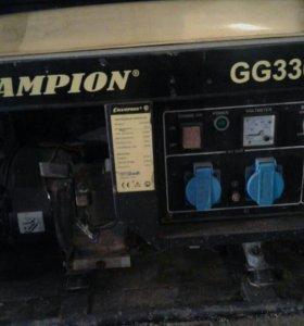 бензоэлектрогенератор CHAMPION GG3300