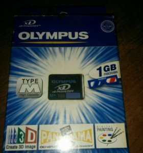 Карта памяти Olympus xD-Picture Card 1 GB