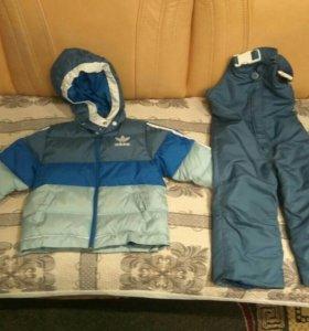 Детская куртка и комбинезон Adidas