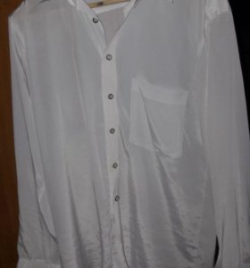 Две шелковые рубашки в хорошем состоянии