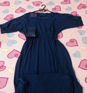 Два платья в пол по 500 рублей