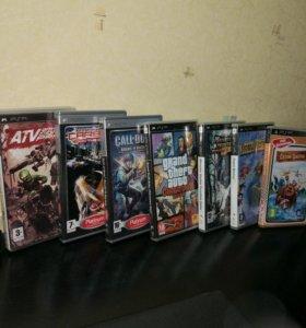 Игровые диски к PSP