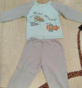 Пижама утепленная