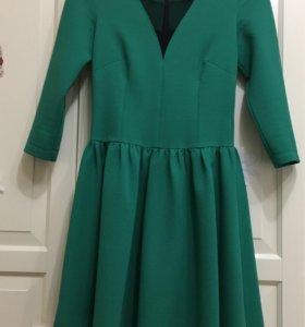 Красивое эффектное платье р 40-42