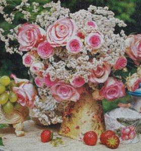 Цветы, натюрморты