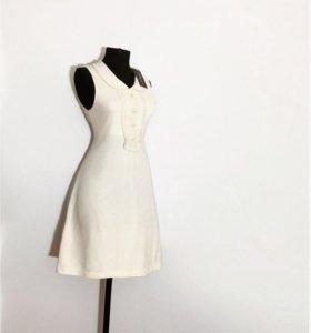 Новое трикотажное платье с этикеткой