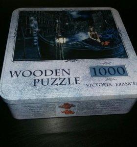 Wooden puzzle Victoria Frances 1000 пазл