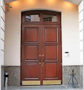 Металические двери.