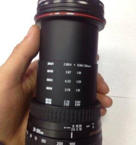 Объектив SIGMA COMPACT HYPERZOOM 28-300mm