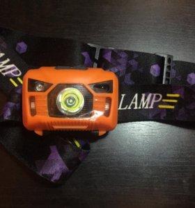 Usb фонарик налобный led
